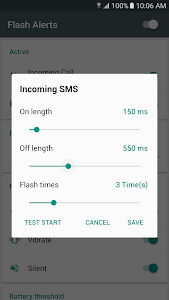Flash Alerts on Call and SMS screenshot 3