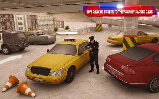 Multistory Police Car Parking Crime Escape Control 1.0 screenshots 2