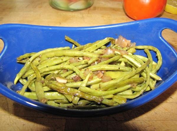 Sauteed Garlic Green Beans Recipe