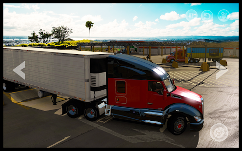 Euro Truck Driving : Goods Transport Cargo Game 3D - náhled