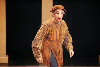 Photo: Launcelot,Merchant of Venice, Shakespeare Center Los Angeles. Photo, Michael Lamont.