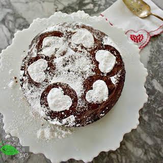 Torta Caprese, Italian Chocolate Almond Flour Cake, Low Carb.