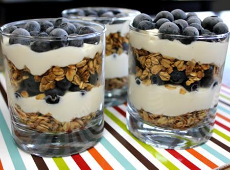 Blueberry Parfait Recipe