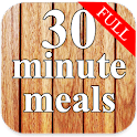 30 minute meals icon