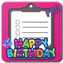 Birthday Party Checklist (PRO) icon
