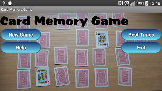 Card Memory Game