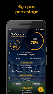NixSports Predictions - náhled