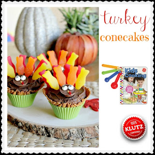Turkey Conecakes