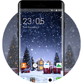 Christmas Themes for Oppo A57 Snowy Village