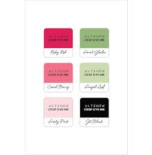 Altenew Dye Inks 6 Mini Cube Set - Floral