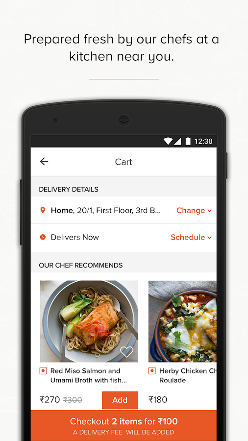 Freshmenu - Order Food Online- screenshot