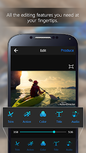 ActionDirector Video Editor screenshot 1