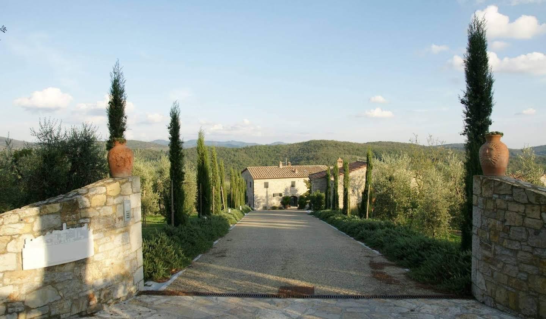 Villa avec jardin et terrasse Radda in Chianti