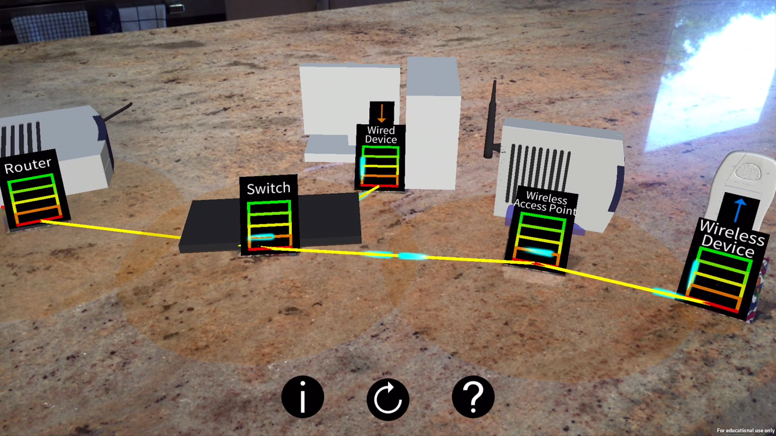 Networking AR- screenshot