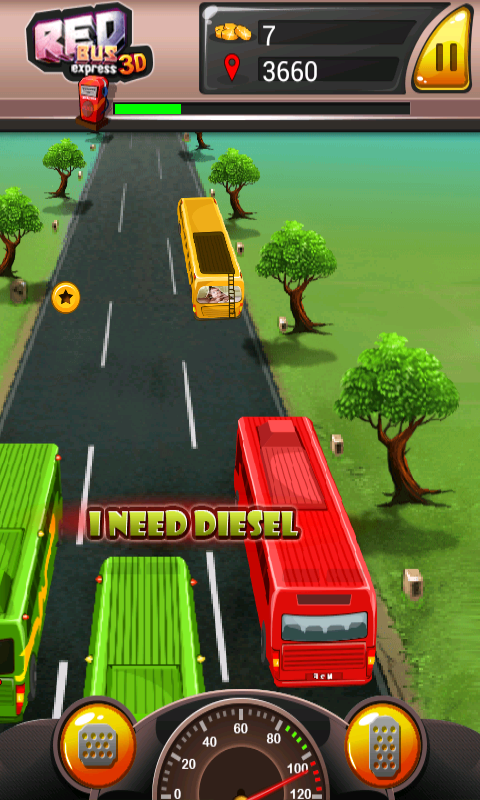 3D Redbus Express- screenshot