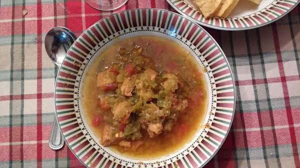 Sopa De Tomatillo