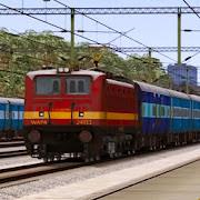 Free Indian Train Race 2020:Train Simulator Games