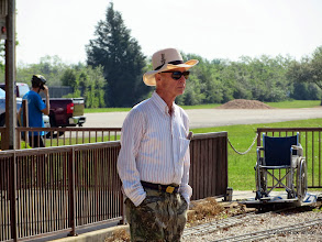 Photo: Stationmaster Barry Tobias      HALS Public Run Day 2014-0419 RPW  10:08 AM