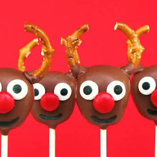 Reindeer Cake Pops.