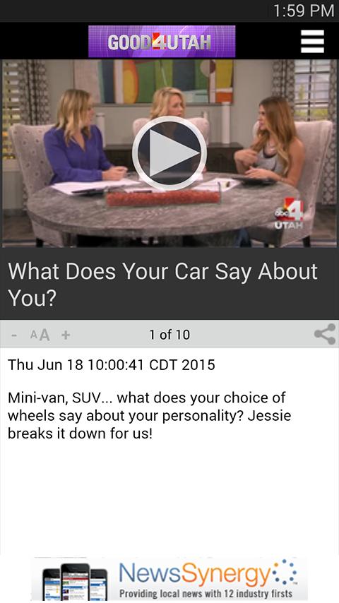 ABC 4 Utah KTVX - screenshot