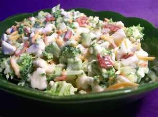 Broccoli Cauiflower Salad Recipe