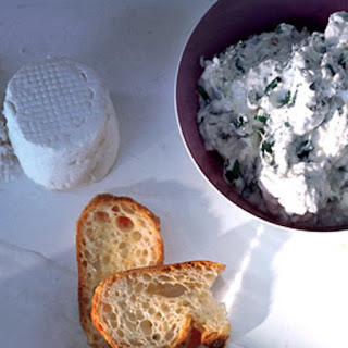 Herbed Goat-Cheese Toasts.