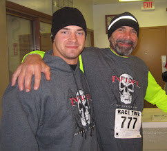 Photo: Elliott Turnbaugh and his Dad Paul Turnbaugh