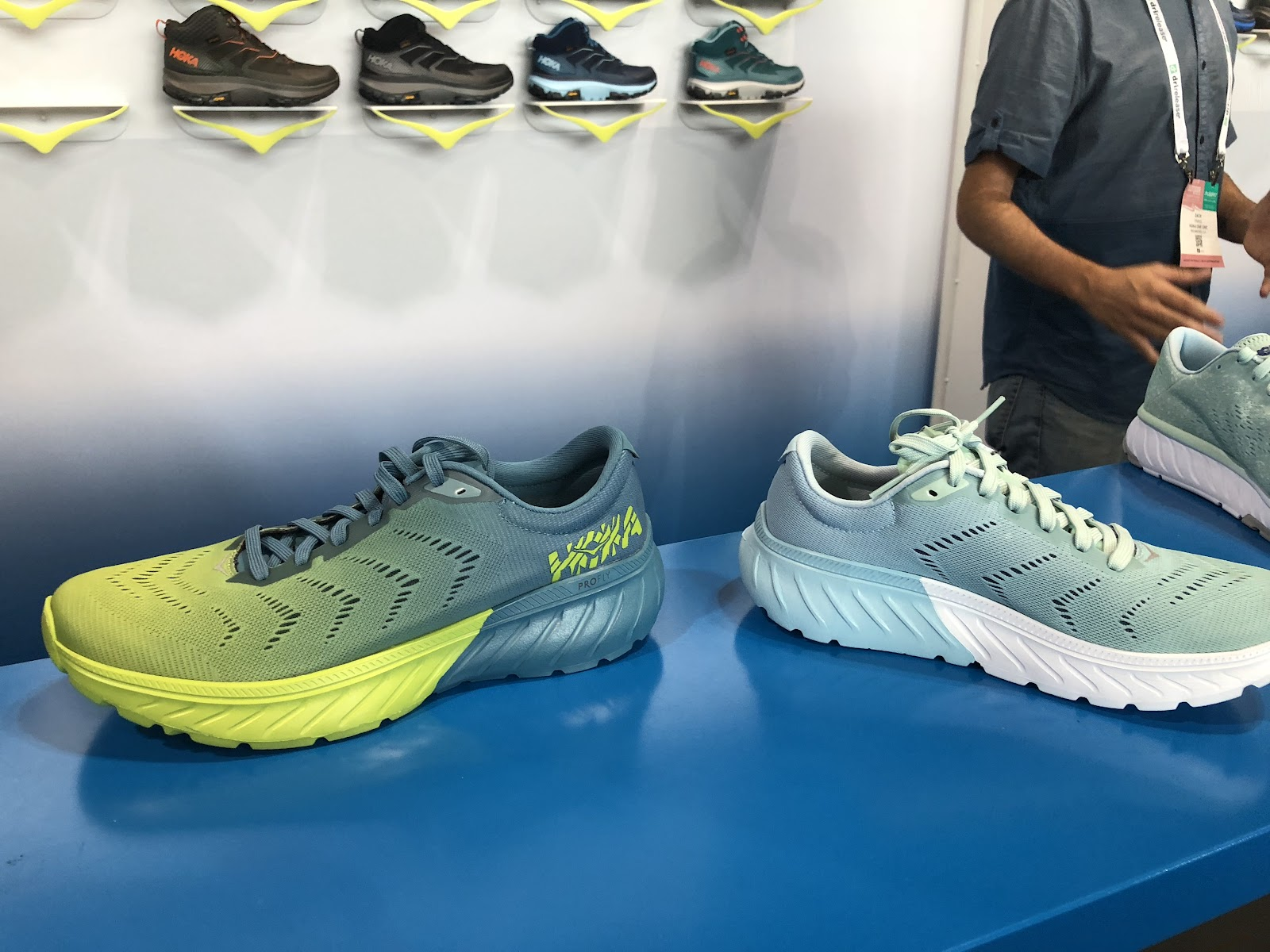 0aabb11795 Road Trail Run: Spring 2019 Hoka One One Previews: Mach 2, Cavu 2 ...
