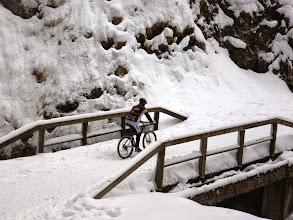 Photo: Le ruote sul ponte