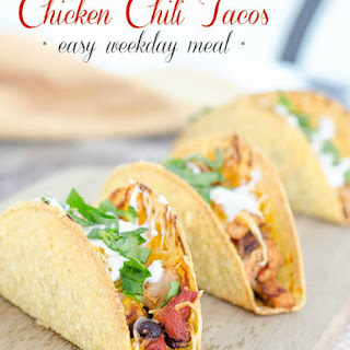 Chicken Chili Taco Recipe {easy weekday dinner}