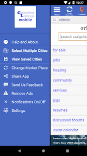 App cl mobile™- Browser for craigslist and classifieds APK for Windows Phone