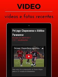 Atlético-PR Notícias - Futebol Paranaense Brasil - náhled