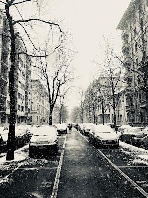 Neve .... in città di donac
