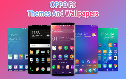 OPPO F9 theme & launcher: OPP f9 theme & Wallpaper 1.0.8 screenshots 2