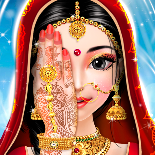 Indian Bride Fashion Doll Makeover Salon