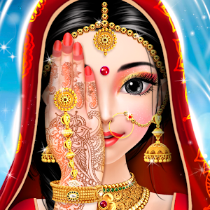 Indian Bride Fashion Wedding Makeover And Makeup