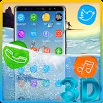 3D Samsung Galaxy Note 8 Theme Icon
