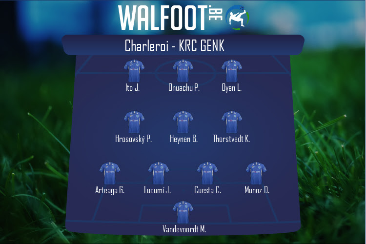 KRC Genk (Charleroi - KRC Genk)