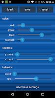 Screenshot of PopSquares Live Wallpaper