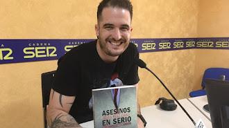 Blas Ruiz Grau durante una entrevista en Ser Almería