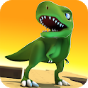 Jurassic Dinosaur: Real Kingdom Race Free icon
