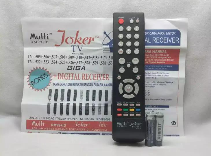 kode remot tv changhong joker