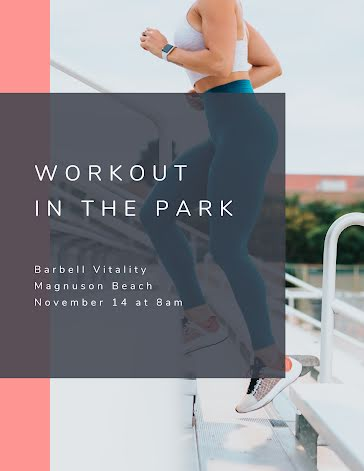 Workout in the Park - Flyer Template