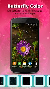 Live Wallpaper - Flowers screenshot 6