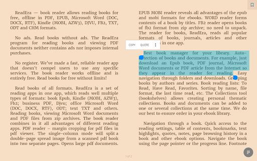 ReadEra - book reader pdf, epub, word screenshot 11