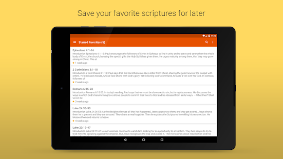 Daily Scriptures- screenshot thumbnail