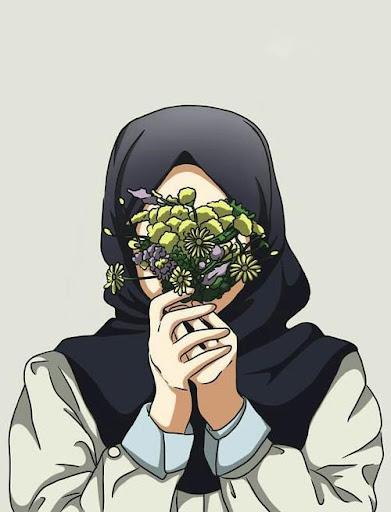 Gambar Kartun Muslimah Anime Hijab Wallpaper Anime Wallpapers