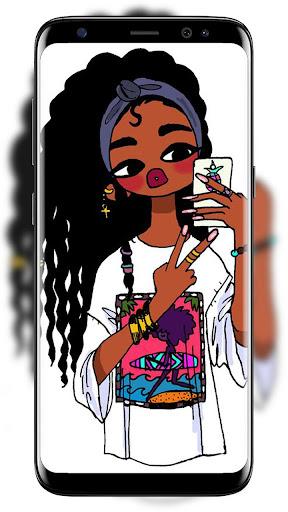 Melanin Wallpapers Cute Black Girls Apps Bei Google Play