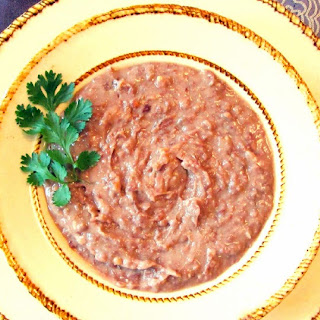 "Crockpot ""Refried"" Beans"