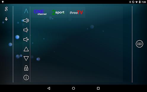 Smart TV Remote Tab- screenshot thumbnail